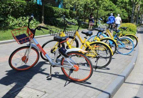 工业园区投入共享单车 职工短途出行绿色便捷