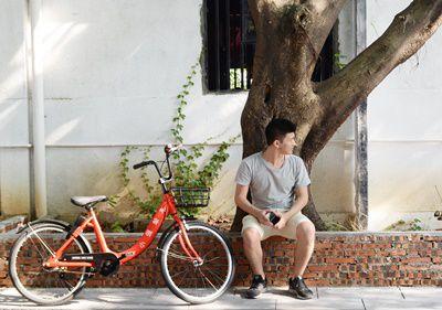 景区共享电动自行车 让游玩更加尽兴