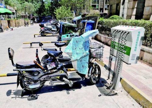 共享电动车充电桩建设 优质的社区公共充电服务
