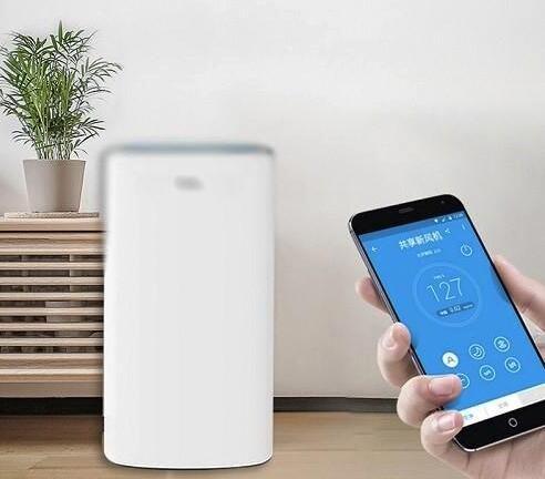 共享空气净化器轻松解决室内空气污染难题