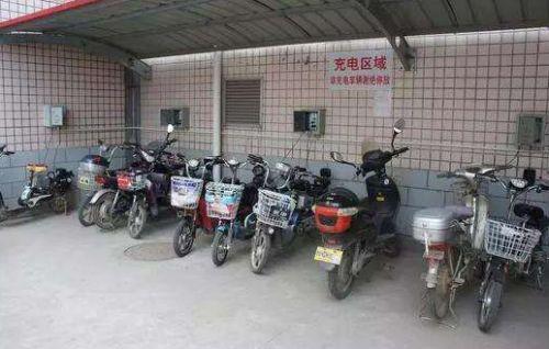 共享电动车充电站  智能充电更安全