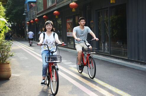 景区引进共享单车 助力景区盈利多元化