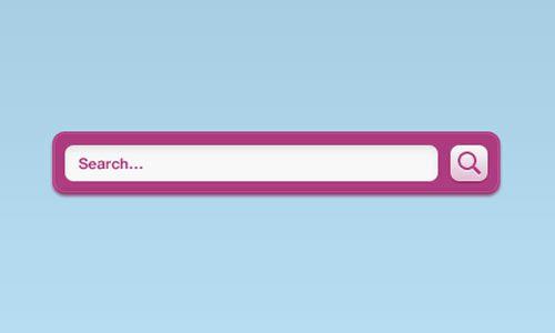 手机软件开发公司浅析ui界面设计搜索框的布局图片